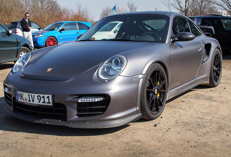 Which would you prefer: The 911 GT2 RS…