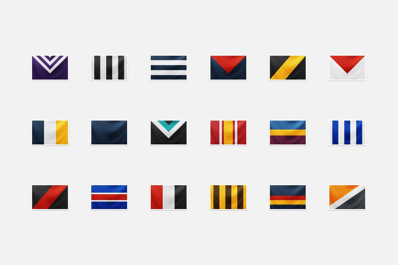 Team flags