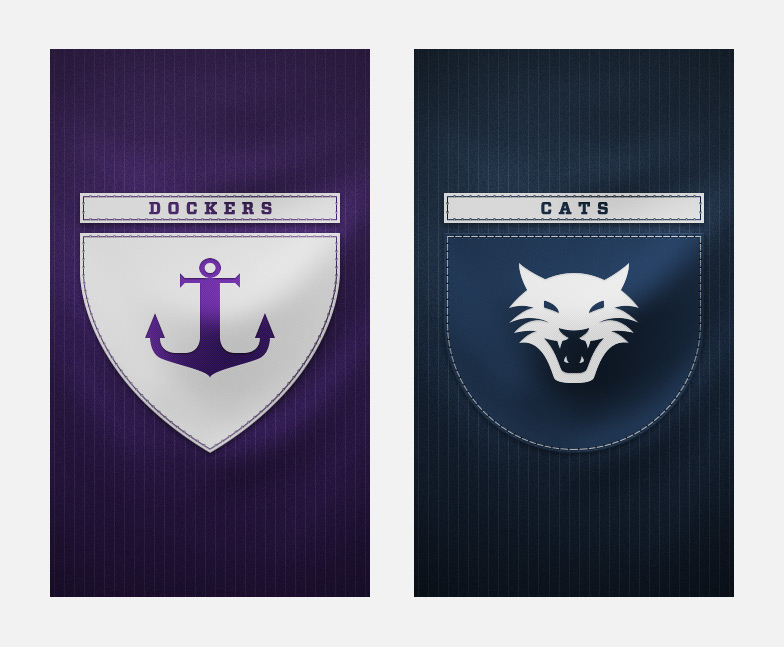 Dockers and Cats splash screens
